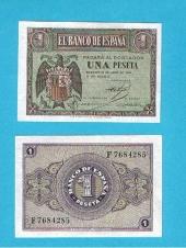 España 1 Peseta 30-Abril-1.938 SC