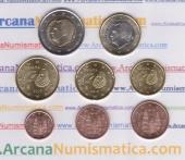 España Set 8 Monedas Euro 2.016 SC
