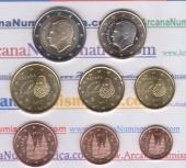 España Set 8 Monedas 2.017 SC