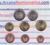 España Set 8 Monedas 2.018 SC