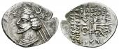 Imperio Parto. Orodes II. Dracma. 57-38 a.C. Partia. MBC