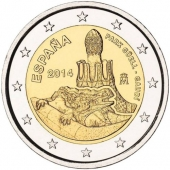 España 2 Euros 2.014