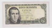 """España 5 Pesetas 16-Agosto-1.951 """"Jaime Baines"""" KM#140 SC"""