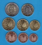 España Set 8 Monedas Euro 2.014 SC