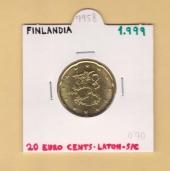 Finlandia 0,20€ 1.999 SC
