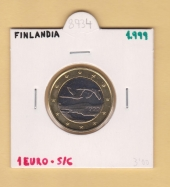 Finlandia 1€ 1.999 Bimetálica SC