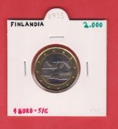 Finlandia 1€ 2.000 Bimetálica SC