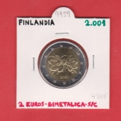 Finlandia 2€ 2.001 Bimetálica SC
