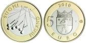 Finlandia 5€ 2.010 Bimetálica SC
