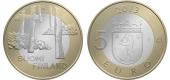 """Finlandia 5€ 2.013 Bimetálica """"Satakunta"""" SC"""