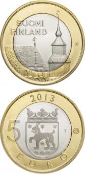 "Finlandia 5€ 2.013 Bimetálica ""Tavastia"" SC"