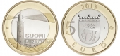 """Finlandia 5€ 2.013 Bimetálica """"ALAND"""" SC"""