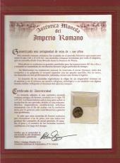 Moneda del Imperio Romano